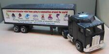 Matchbox Convoy   CY08-C2 Kenworth COE Humanity First - All Black