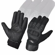 Black Men's Outdoor Tactical Gloves Full Finger Hiking Riding Cycling Military