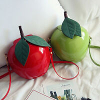Original Apple Shape Single Shoulder Bag Coin Purse Girls Crossbody Handbag Hot