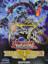 YuGiOh Zombie Horde Structure Deck, SR07, Common 1st Ed. Choose from list.