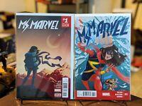 MS MARVEL #12 #13 comics 1st app Red Dagger and Kamran Disney low print🔥