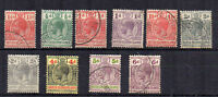 British Solomon Islands 1913-31 values to 6d FU CDS