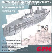 Modell-Zubehörsatz Szent Istvan Lasercut Spanten 1:200 GPM