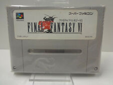 SNES Jeu-Final Fantasy VI (6) (JAP Import) (Module)
