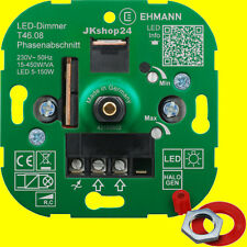 LED-DIMMER 5-150 Watt (Lampen+ESL 15-450 W) Unterputz UP-Einbau|4600x0800|T46.08