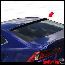 Rear Roof Spoiler Window Wing (Fits: Lexus IS250 IS350 2014-on XE30) 284R