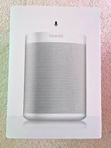 New Unopened - Sonos ONEG1US1 Voice Controlled Smart Speaker - White