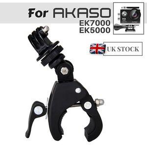 Bike Handlebar Mount Bicycle Clamp For AKASO EK7000 EK5000 V50 4k Action Camera