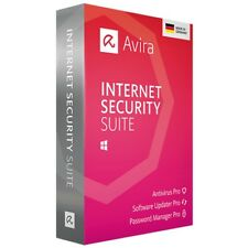 AVIRA Internet Security Suite 2020 * 2 PC 3 Jahre * Software Updater DE Lizenz