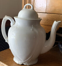 Antique Sebring Brothers Warranted Stone China Tea/Coffee Pot (1887-1895)