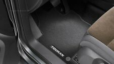 Original VW Textil Fußmatten vorn + hinten mit Druckknopf für Touran Volkswagen