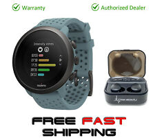 Suunto 3 New Edition Fitness Moss Grey Multisport Watch with EarBuds Pro Bundle