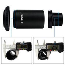 "SVBONY 1.25"" M42 Thread T-Mount Adapter +T2 Ring for Nikon Lens Adapter DSLR US"