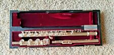 Yamaha YFL-684 Open Hole Silver Flute, B Foot. Excellent Condition!