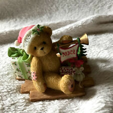 "Cherished Teddies Gerard 112391 ""Welcome All The Sounds of The Season:"