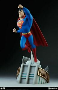 """Superman: The Animated Series - Superman 20"""" Statue by Sideshow Collectibles"""