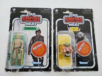 Star Wars Retro Collection Wave 2 ESB Yoda and Luke Dagobah 2020 Kenner