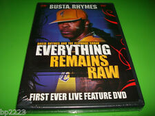 "BUSTA RHYMES-LIVE-DVD-HD-ALL ACCESS PASS ""EVERYTHING REMAINS RAW"" NEW SEALED"