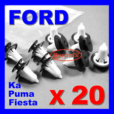 FORD INTERIOR DOOR TRIM PANEL CARD CLIPS PLASTIC Fiesta Ka Puma RETAINER X 20