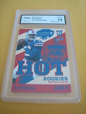 E.J. EJ MANUEL BILLS  2013 SCORE HOT ROOKIES RC # 17 GRADED 10
