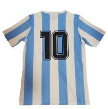 Maglia ARGENTINA 1986 maglietta da calcio maradona retro vintage mondiali mexico