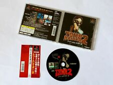 PS1 Tomb Raiders 2 w/Spine Playstation Sony Victor Action GAME JAPAN JP