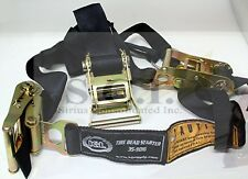 TIRE BEAD SEATER SEAT RATCHET STRAPS GREAT FOR ATV AND MOTORCYCLE CAR TIRES