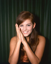 CLAUDIA CARDINALE BEAUTIFUL RARE COLOR 8X10 PHOTO