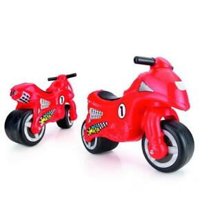 Dolu My First Moto Kids Ride On Toy Push Motorcycle Outdoor Red Toddler Sit On