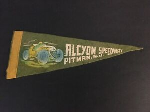 1940S ALCYON SPEEDWAY RACING PENNENT (VERY RARE)