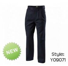 Mens Hard Yakka Foundations Wrinkle Resistant Trousers Pants Work Y09071
