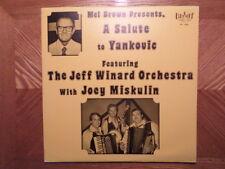 BRIGHT LP RECORD/MEL BROWN PRESENTS SALUTE YANKOVIC/JEFF WINARD/JOEY MISKULIN
