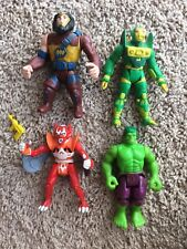 Vintage Kenner Super Powers Figure Lot DC Comics 1984 And Hulk