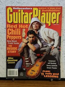 Guitar Player magazine, April 1995, featuring Red Hot Chili Peppers