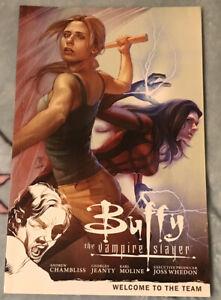 Buffy The Vampire Slayer Season 9 TPB Volume 4 Welcome To The Team Dark Horse