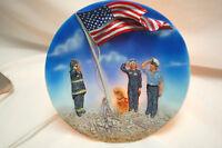 Heroes US Flag Electric Night Light Fireman Policeman Patrol Dog  S8309