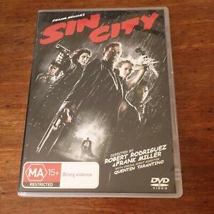 Sin City DVD R4 Like New! FREE POST