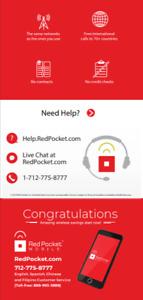 $15/Mo Red Pocket Prepaid Wireless Phone Plan+Kit: UnImtd Everything 3GB LTE