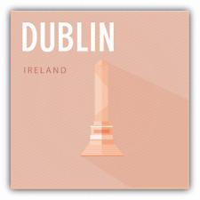 "Phoenix Park Dublin Ireland Travel Car Bumper Sticker Decal 5"" x 5"""