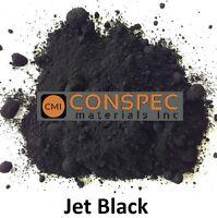 JET BLACK Concrete Color Pigment Dye Colorant Cement Mortar Grout Plaster 1 LB