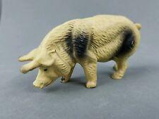Vintage Pig Putz Figurine Lineol Elastolin German Austria Composition Animal
