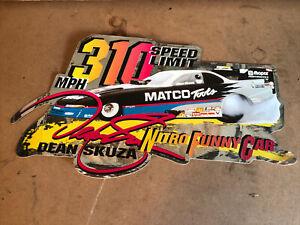 Matco Tools tool box garage shop drag racing decal sticker NHRA Dean Skuza Nitro