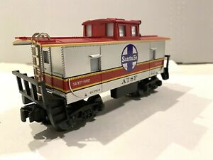 1996 K-LINE ELECTRIC TRAINS -Santa Fe K-613803 CABOOSE-W/LIGHT- O-SCALE LIONEL