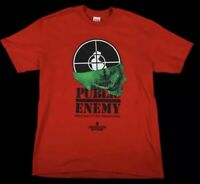 Supreme Undercover Shirt Public Enemy Terrordome Tee Size L Red Rap NEW