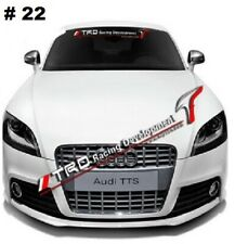 TRD Racing Car Windshield Window Clear Vinyl Banner Decal Sticker For Toyota