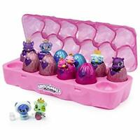 HATCHIMALS 6047215 CollEGGtibles, Jewellery Box Royal Dozen 12-pack Egg Carton w