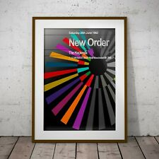 More details for new order - first haçienda concert two framed or three print options exclusive