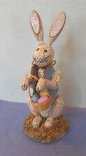 VTG EASTER collection-Bunny Rabbit basket Eggs-Midwest Cannon Falls Decoration