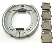 YAMAHA Grizzly 600 YFM600 (1998-2001) BONDED FRONT PADS & REAR BRAKE SHOES