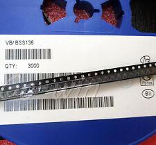 500PCS MOSFET N-CH 50V 220MA SOT-23 NEW BSS138